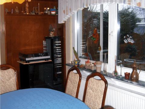 Esszimmer vorher raumausstattung ebert for Esszimmer offenbach