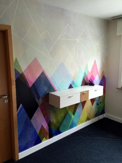Wandgestaltung  Wandgestaltung - Raumausstattung Ebert