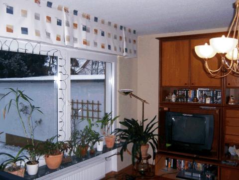 Wohnzimmer vorher raumausstattung ebert - Raumausstattung wohnzimmer ...