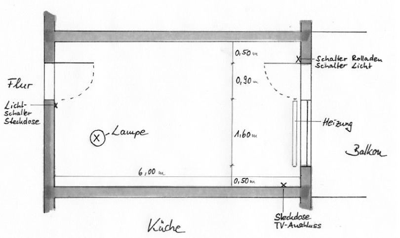 Grundriss 2 Ebert Raumausstattung