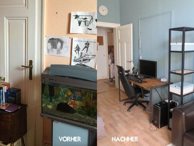 Umgestaltung eines Jugendzimmers